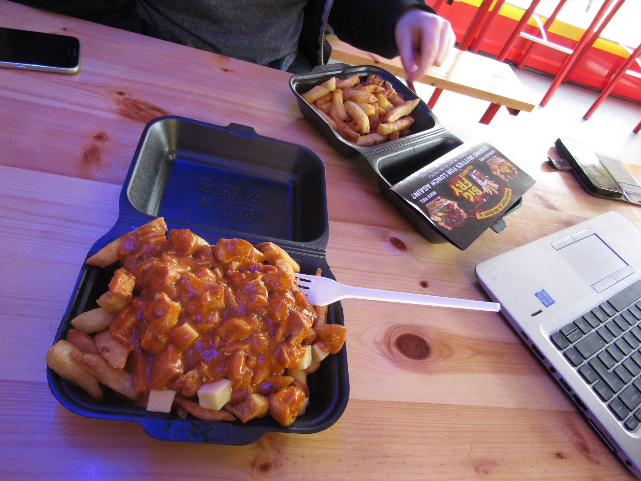 Comfort Food at The Canadian Big Fry