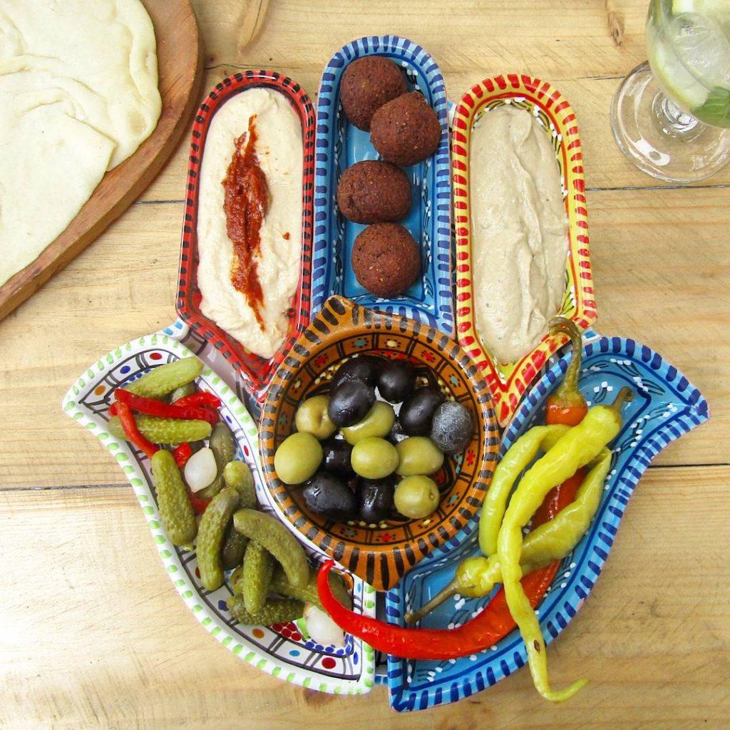 Vegetarian food, Krakow, poland