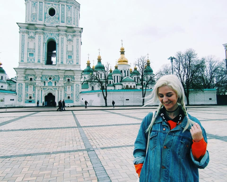 Exploring Kiev's Churches, Street Art & More!