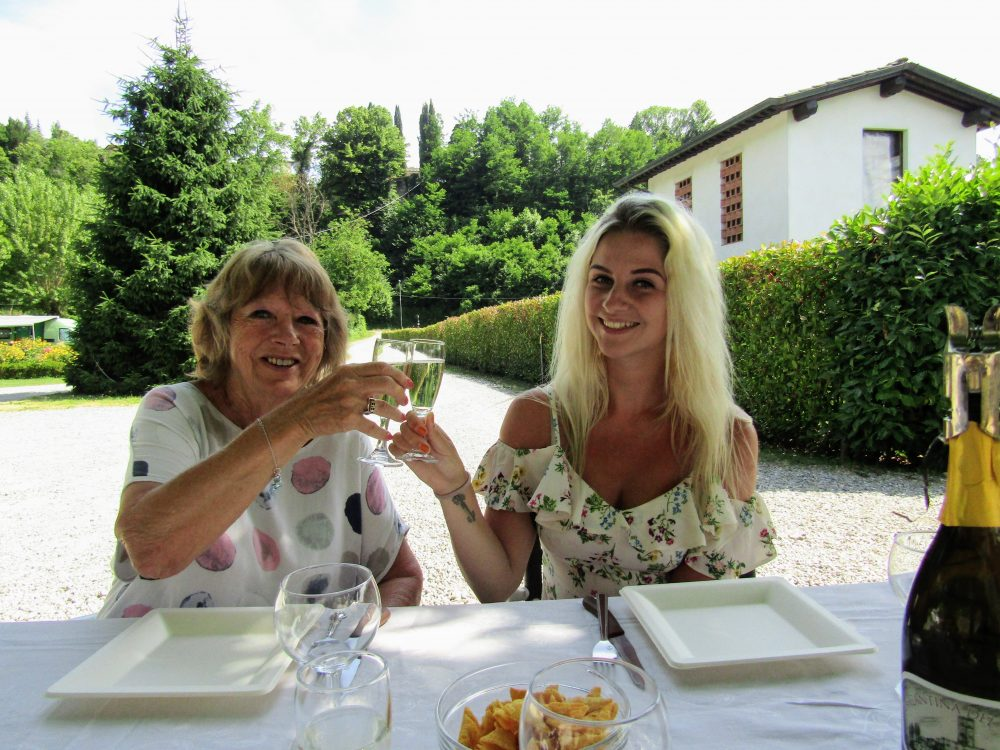 Wine Tasting in Tuscany at La Cantina del Vino Barga