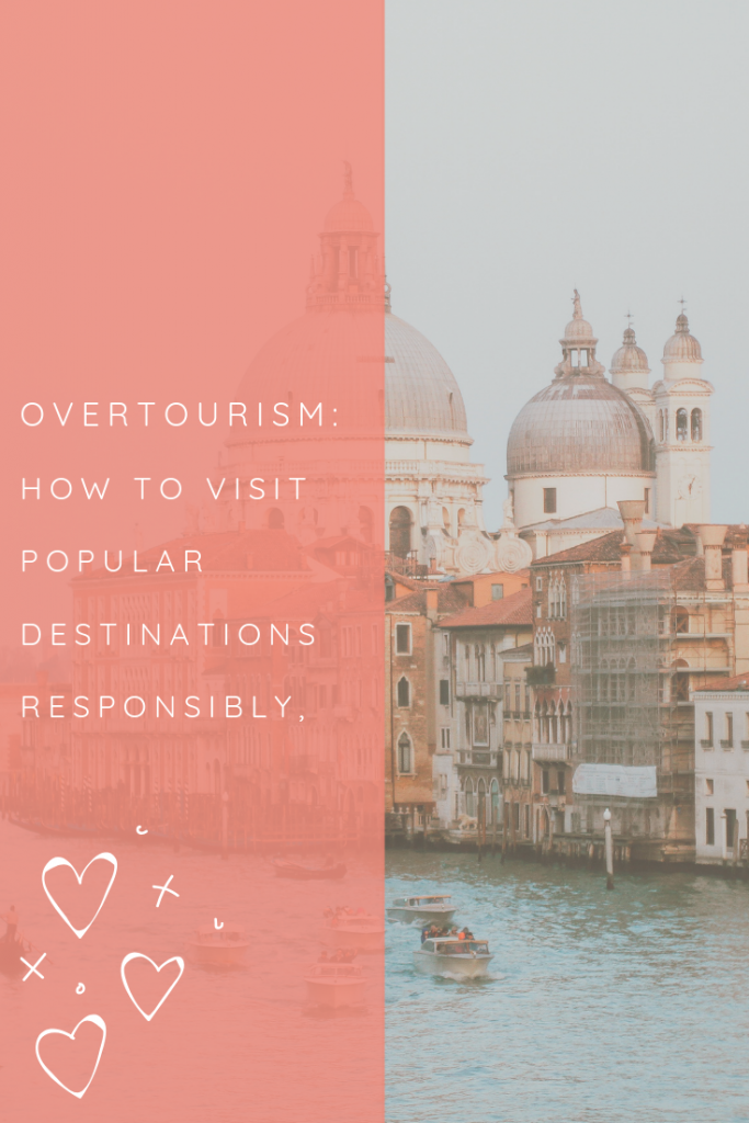 'Overtourism' is a bit of a buzzword in the travel community at the minute. I recently attended a conference in Italy and a panel discussion on the final day focused largely on overtourism and what we, as travel influencers, should be doing to combat it.  However, it's not all down to people in the tourism industry: as a traveller, YOU have a responsibility not to harm the places you travel to, and so in my latest article I explore how you can still visit popular destinations responsibly!