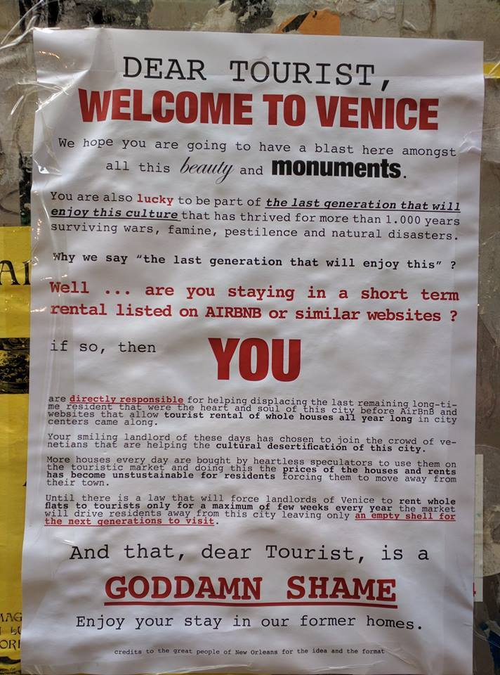 venice anti-tourism