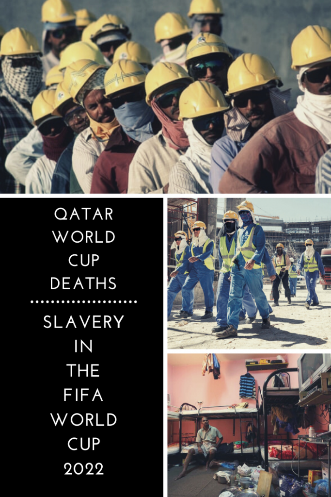 Qatar World Cup Deaths - Slavery in the FIFA World Cup 2022. With the announcement that Qatar will hold the 2022 FIFA World Cup, Qatar's treatment of migrant workers has come under scrutiny, and with thousands of construction workers in Qatar dying at rapid rates, many have begun to question the Qatar World Cup deaths and why they are showing no signs of slowing down despite promises by the Qatar government to reform #humanrights #humantrafficking #modernslavery #worldcup #qatar #doha