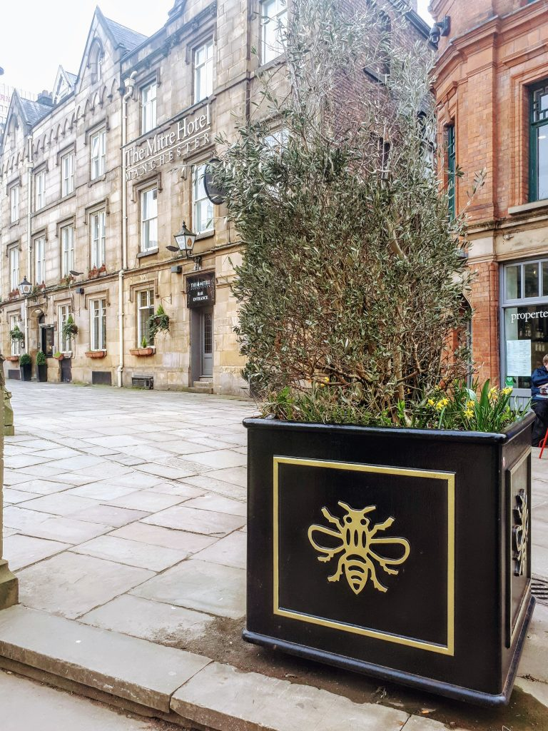 Manchester bee, visit Manchester