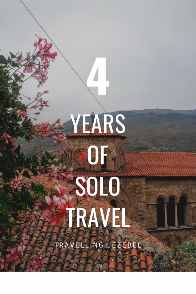 4 Years of Solo Travel!