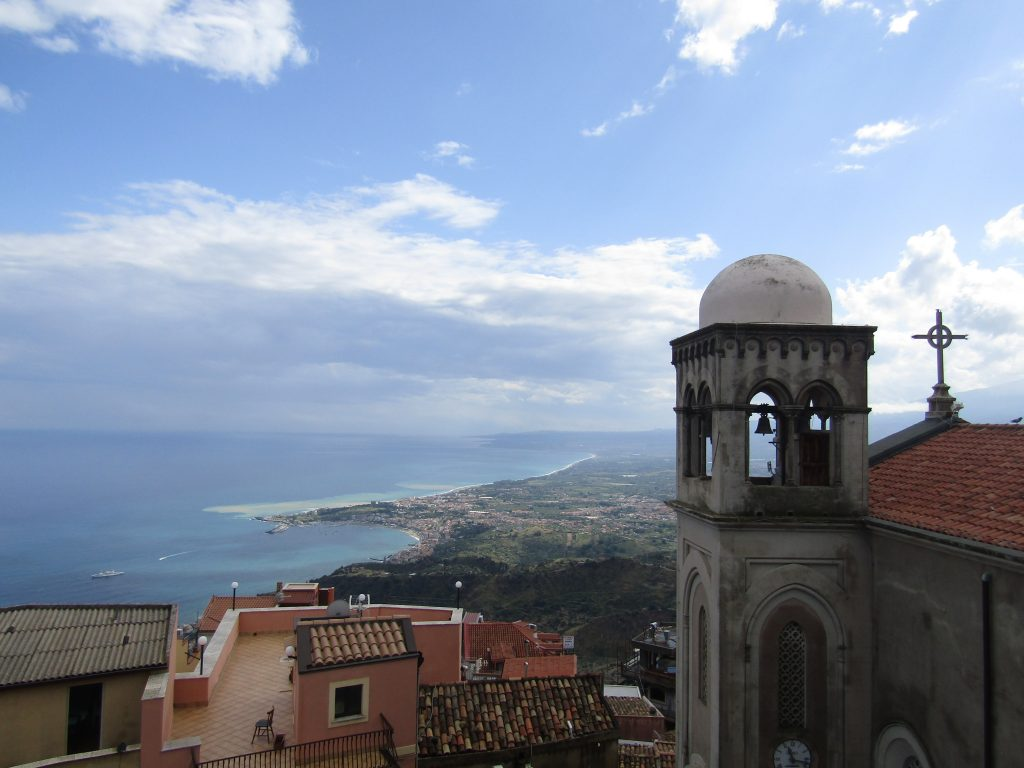 castel mola, day trips from Catania
