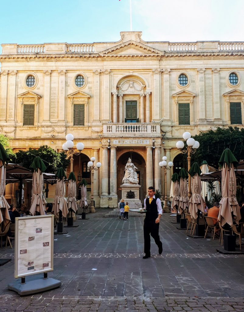places to visit in Malta, Valetta