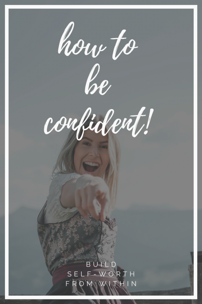 How to build self-esteem from within and stop seeking validation from others! #selfcare #selfhelp #confidence