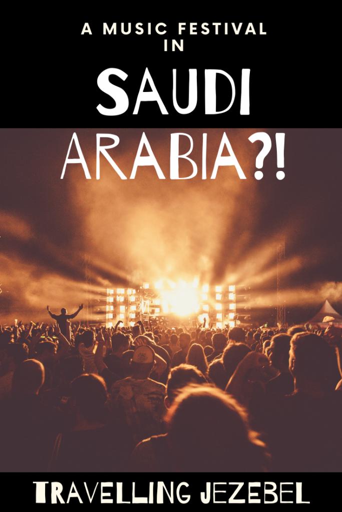 The Saudi Arabia Festival - Pay Checks & Propaganda at MDL Beast - Read on to find out just why promoting the Saudi Arabia music festival is so problematic. #saudiarabia #welcometoarabia #riyadh #mdlbeast #gatewayksa