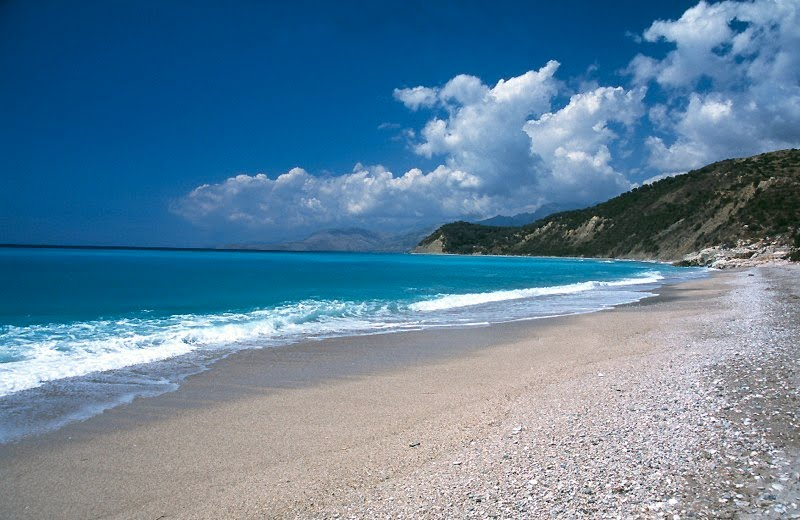 beaches in albania