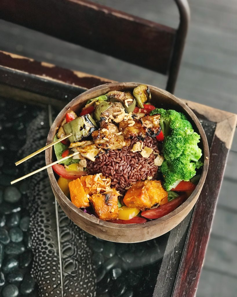 vegan food ubud