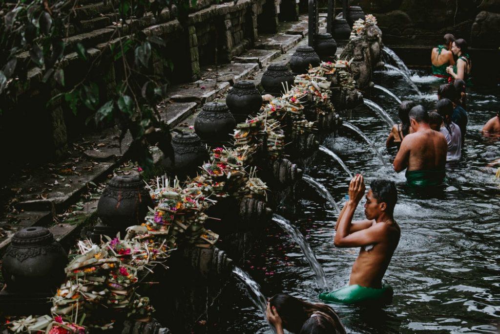 ubud attractions, ubud water temple