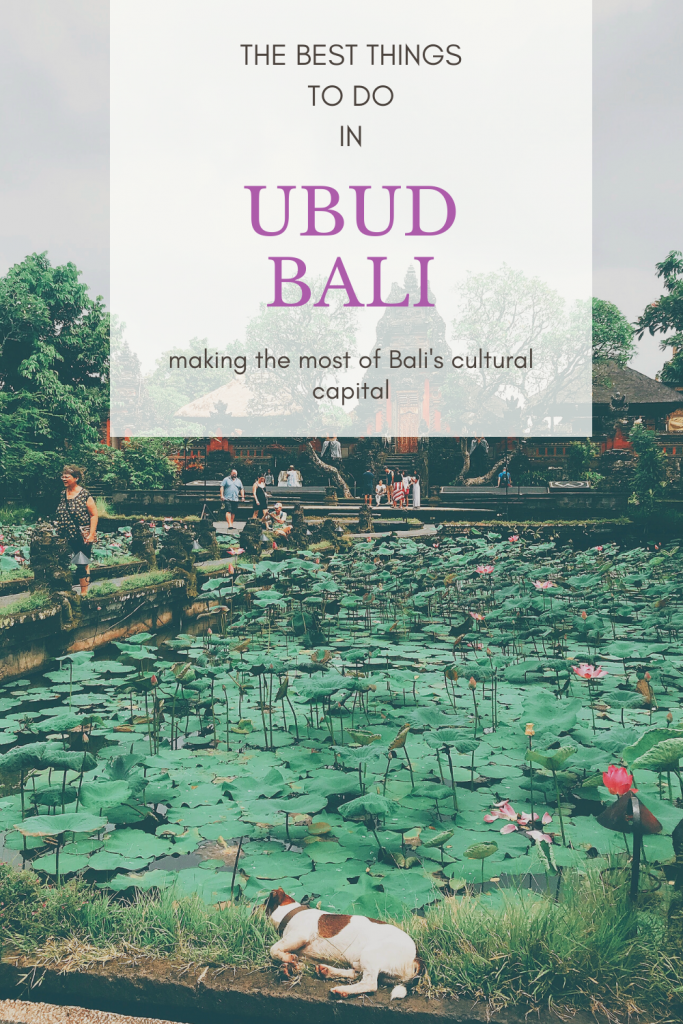 The best things to do in Ubud, Bali's cultural capital. Whether you want rice fields or yoga classes, vegan food or traditional dance, there will be something in Ubud to suit you! #ubud #bali