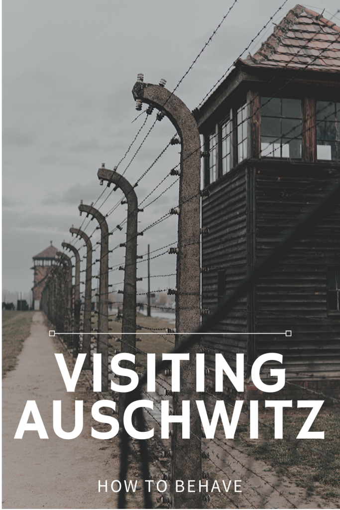 Visiting Auschwitz - Do's and Don'ts. While I was visiting Auschwitz, I witnessed people laughing and joking, taking selfies, play-fighting and posing for photographs in front of the ovens where countless people's bodies were incinerated. #auschwitz #poland