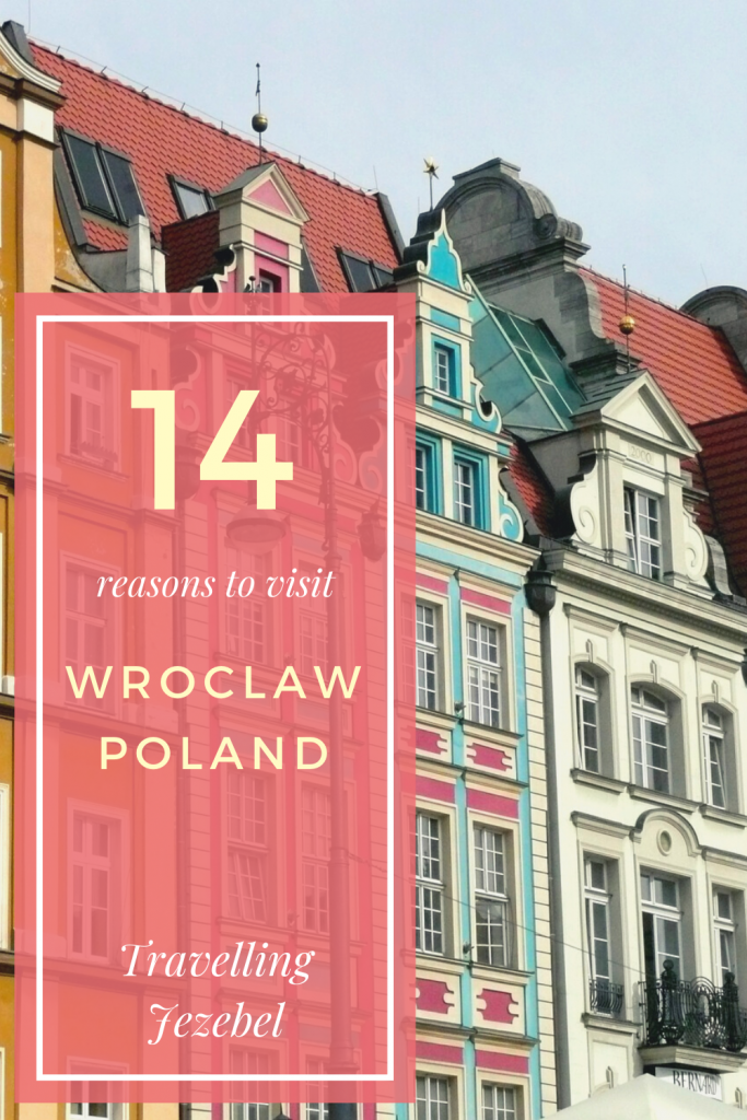 14 Reasons to Visit Wroclaw - Poland's Prettiest City. I firmly believe that Wroclaw is one of the best cities to visit in Poland, and so I thought I would put this list together to convince you that you should definitely visit Wroclaw! #wroclaw #poland