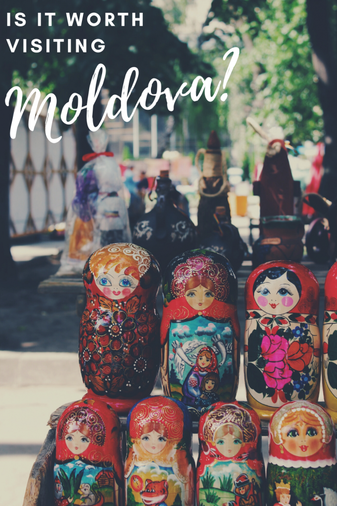 Should you visit Chisinau, Moldova? Moldova is the least visited country in Europe and it way off the beaten path for travellers. In this post, I talk about what Chisinau is like, what there is to do in Chisinau, and cool day trips such as a visit to one of the world's largest wine cellars and to Transnistria, a country that doesn't exist! #chisinau #moldova #easterneurope #transnistria
