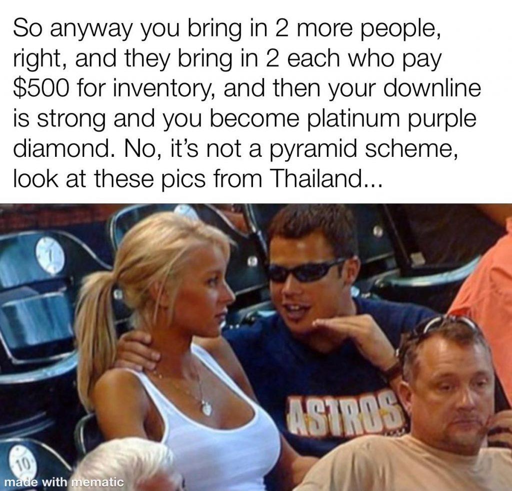 pyramid scheme meme