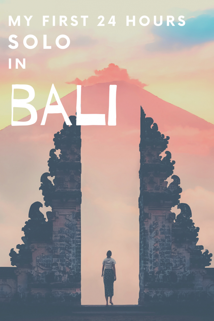 Kuta, Bali - My First 24 Hours as a Solo Traveller | Travel Diaries - This post details my first ever 24 hours as a solo traveller in Kuta, Bali. #kuta #kutabali #solotravel #solofemaletravel