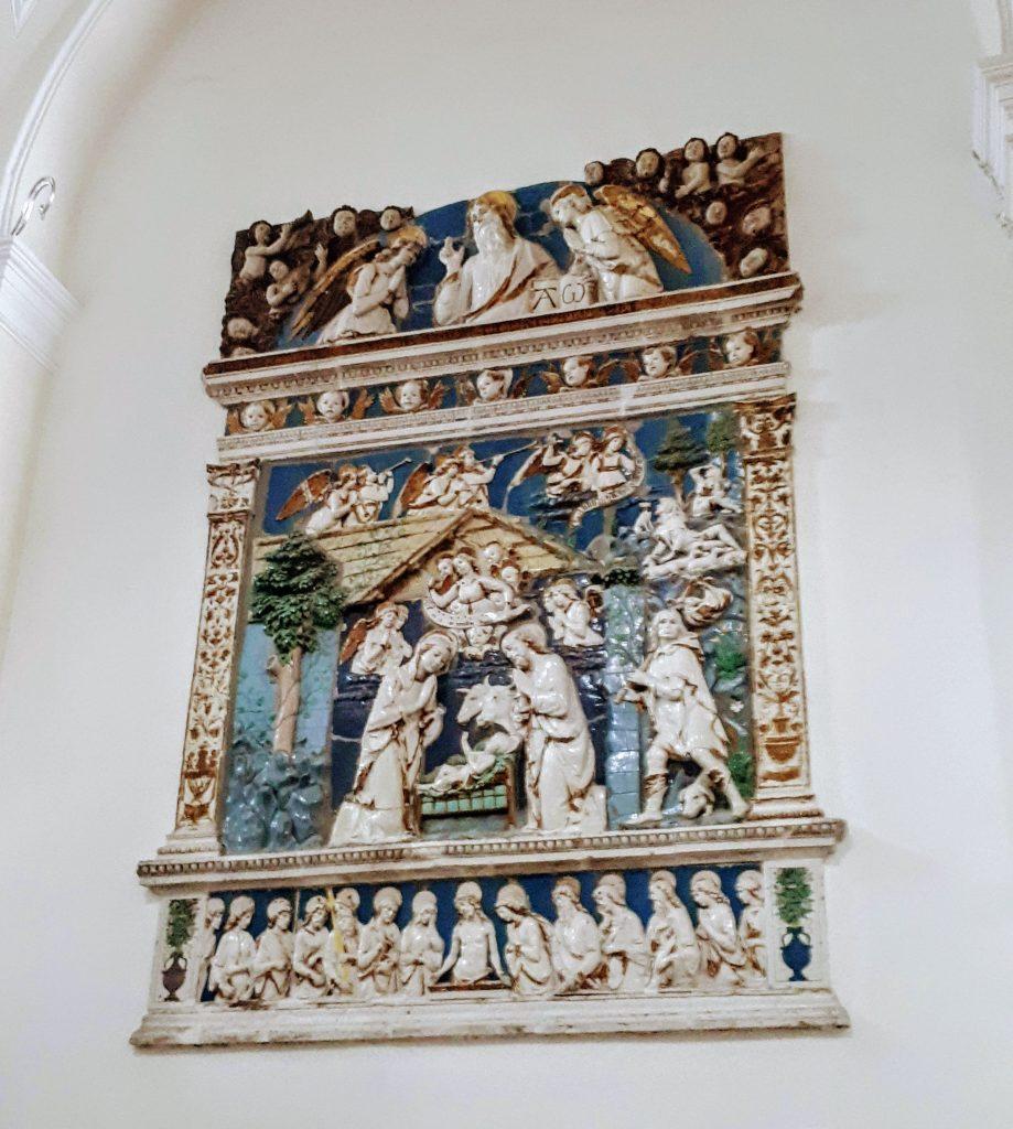 Andrea della Robbia nativity