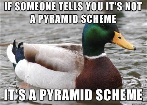 it works pyramid scheme