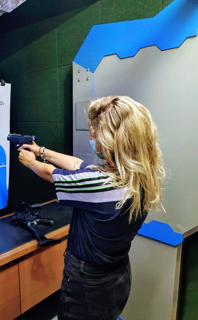 shooting range tirana