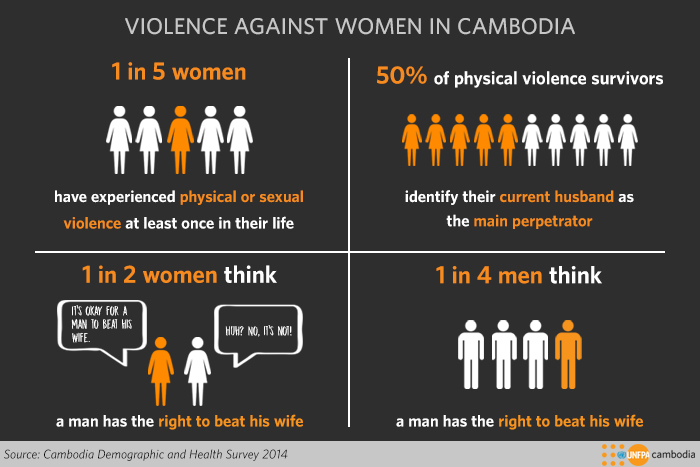 violence against women in cambodia infographic