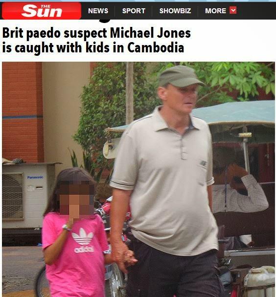 michael jones paedophile
