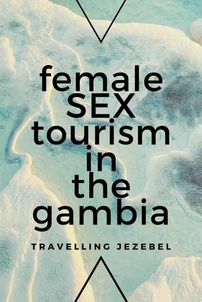 Sex Tourism in The Gambia | Secrets of The Smiling Coast. The Gambia, located on the West coast of Africa between Senegal and Guinea-Bissau, is a tiny nation that has soared in popularity in recent years due to its white sandy beaches, wildlife, and cheap package holidays. However, rather than attracting hordes of young partiers, fresh out of college and looking for some fun in the sun, The Gambia has found itself catering to a somewhat older market, resulting in it being awarded the dubious title of 'West Africa's sex paradise for retired women,' and garnering a rather unsavoury reputation as a sex tourism hotspot. #gambia #thegambia #sextourism #femalesextourism